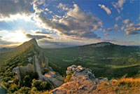 Pic-St-Loup in the Hérault, Languedoc